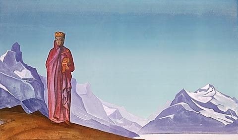 She who holds the world, 1933 - Nicholas Roerich