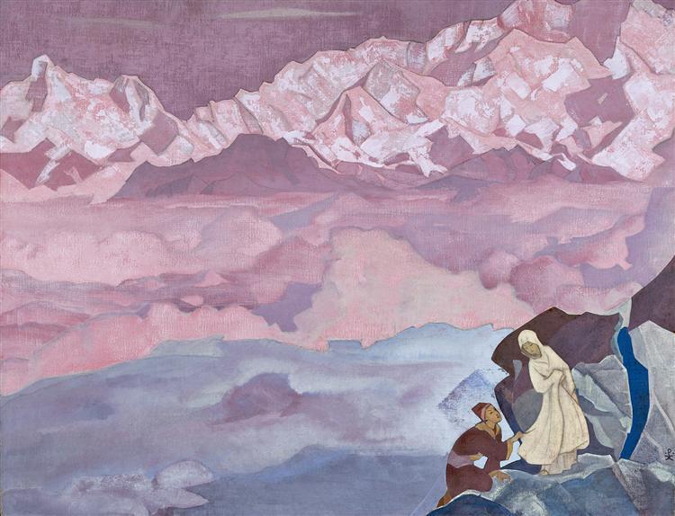 She who leads, 1943 - Nicholas Roerich