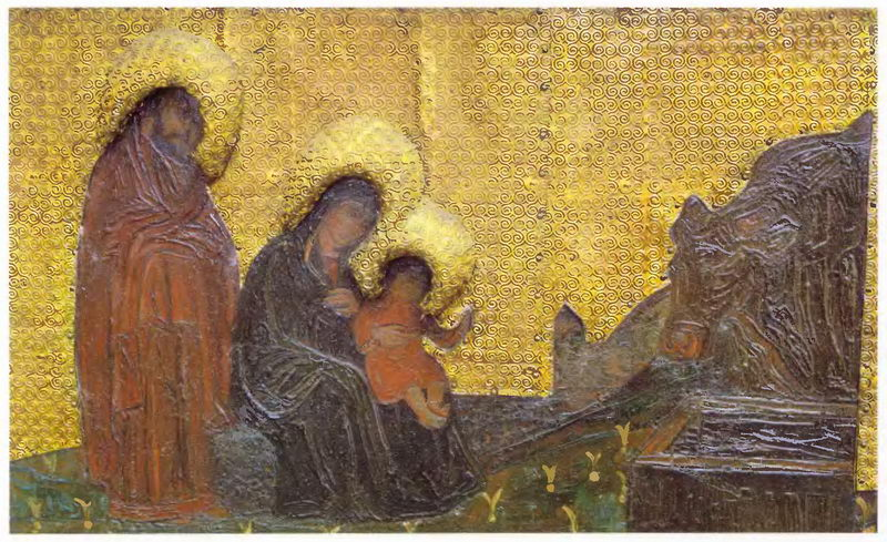 The Virgin Holidays. Introduction of the Virgin in Temple. Holy Family., 1907
