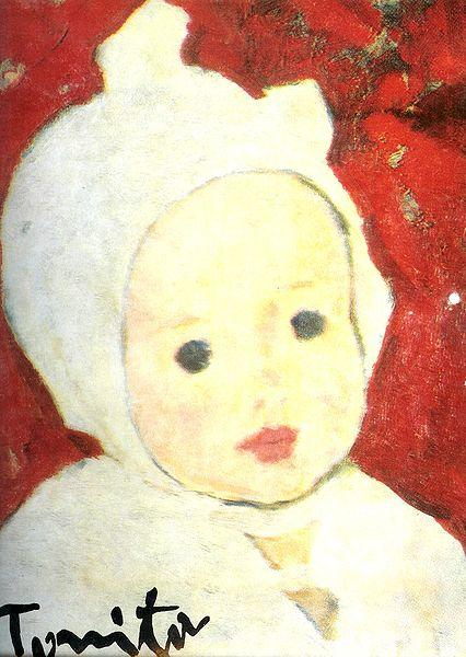 Child Portrait - Nicolae Tonitza