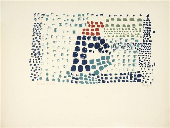 Study in Colour No. 1 (Woimant Staël 93) - Nicolas de Staël
