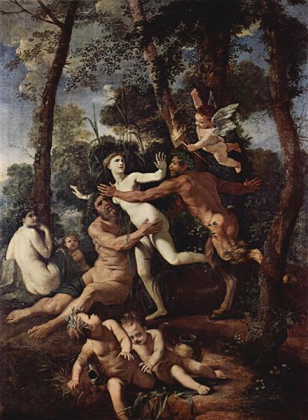 Pan and Syrinx, 1637 - 1638 - Nicolas Poussin