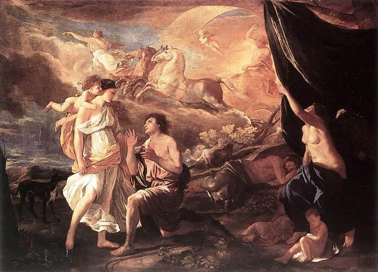 Selene and Endymion, c.1630 - Nicolas Poussin