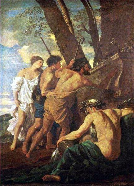 Shepherds of Arcadia, 1627 - Nicolas Poussin