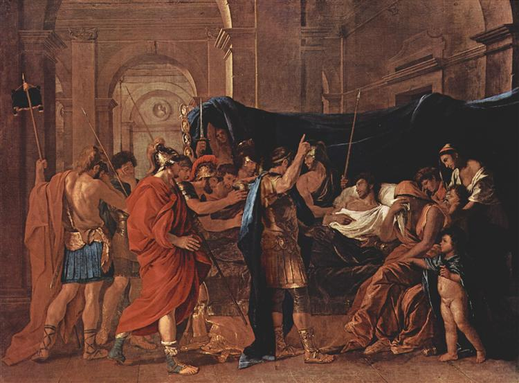 The Death of Germanicus, 1627 - Nicolas Poussin