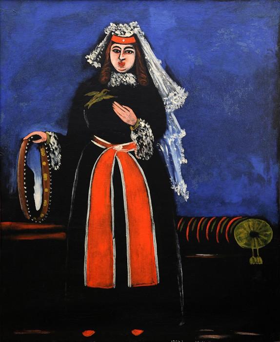Georgian Woman with Tambourine, 1906