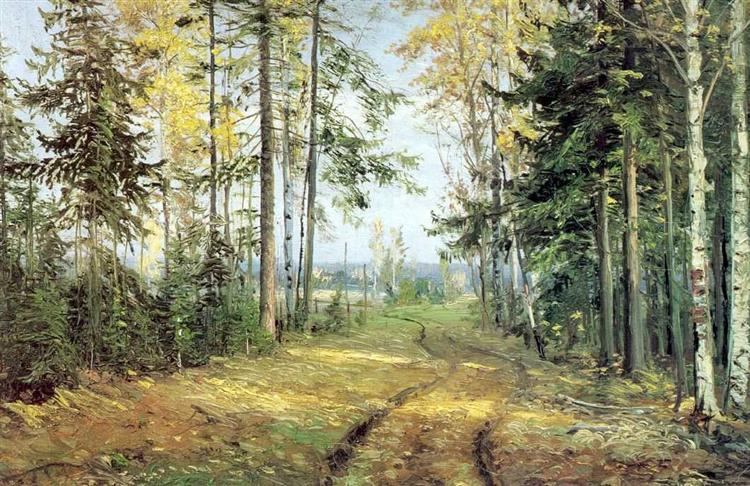 The road into the forest - Nikolai Ge