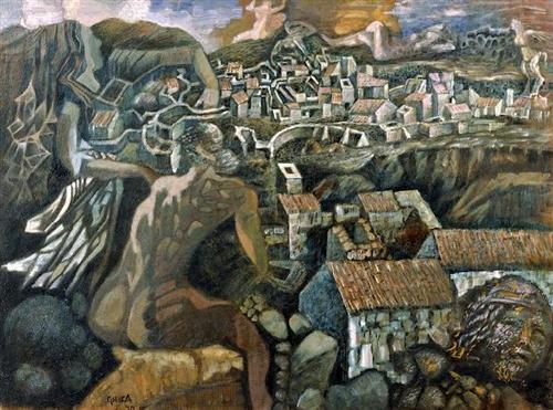 Genii Loci II - Nikos Hadjikyriakos-Ghikas