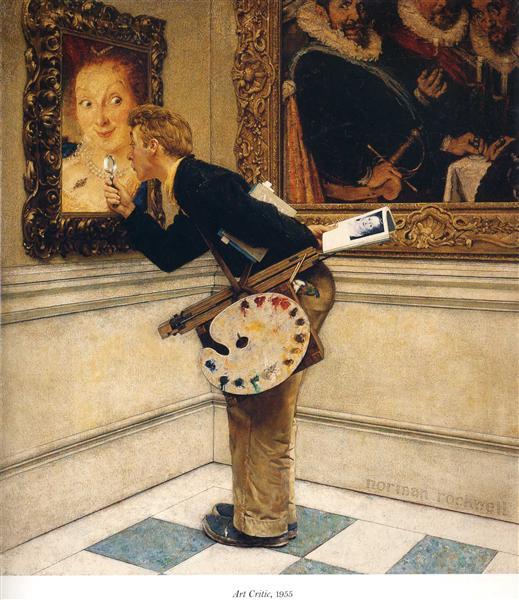 Art Critic, 1955 - Norman Rockwell