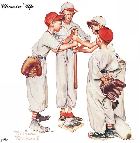 Choosin Up - Norman Rockwell