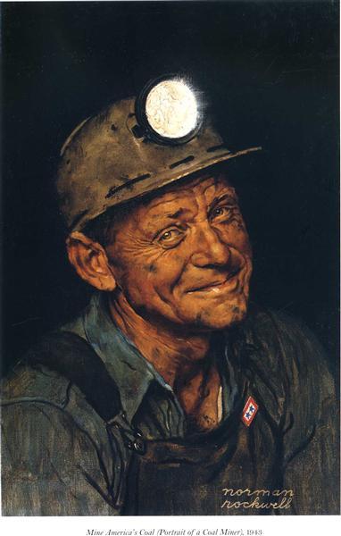 Mine America`s, 1943 - Norman Rockwell