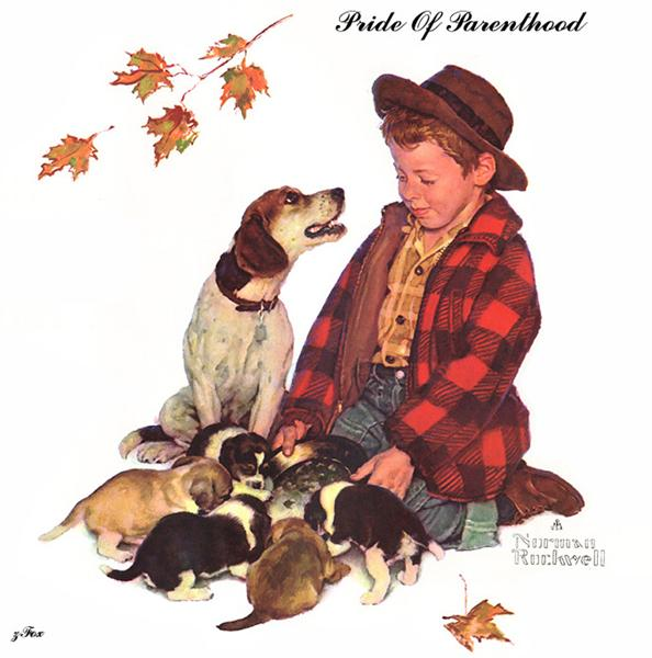 Pride Of Parenthood - Норман Роквелл