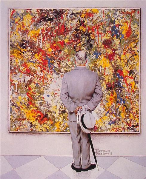 The Connoiseur, 1962 - Norman Rockwell