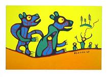 First Meeting - Norval Morrisseau