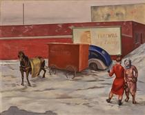 Recurrent Theme in Red - O. Louis Guglielmi