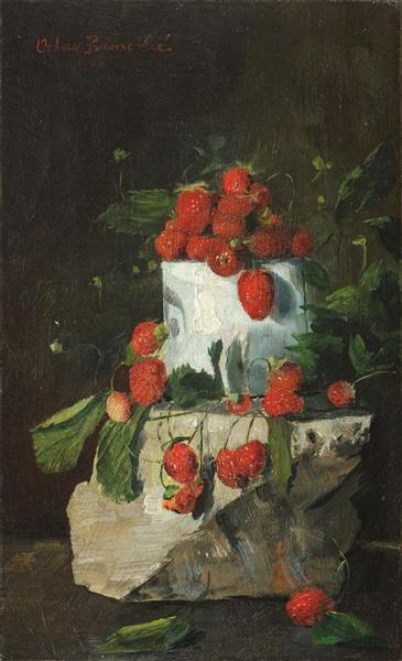 Strawberries, 1906 - Octav Bancila
