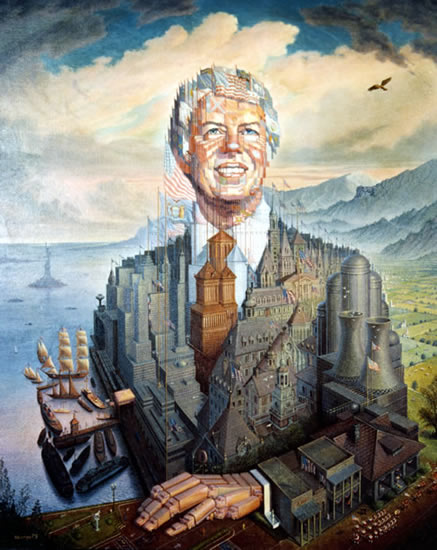 Jimmy Carter - Octavio Ocampo