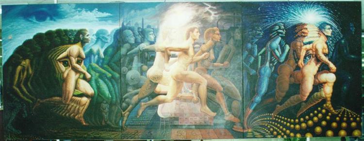 The Evolution of Man - Octavio Ocampo