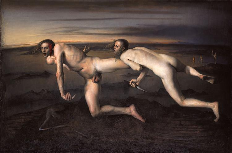 Woman kills injured man, 1994 - Odd Nerdrum