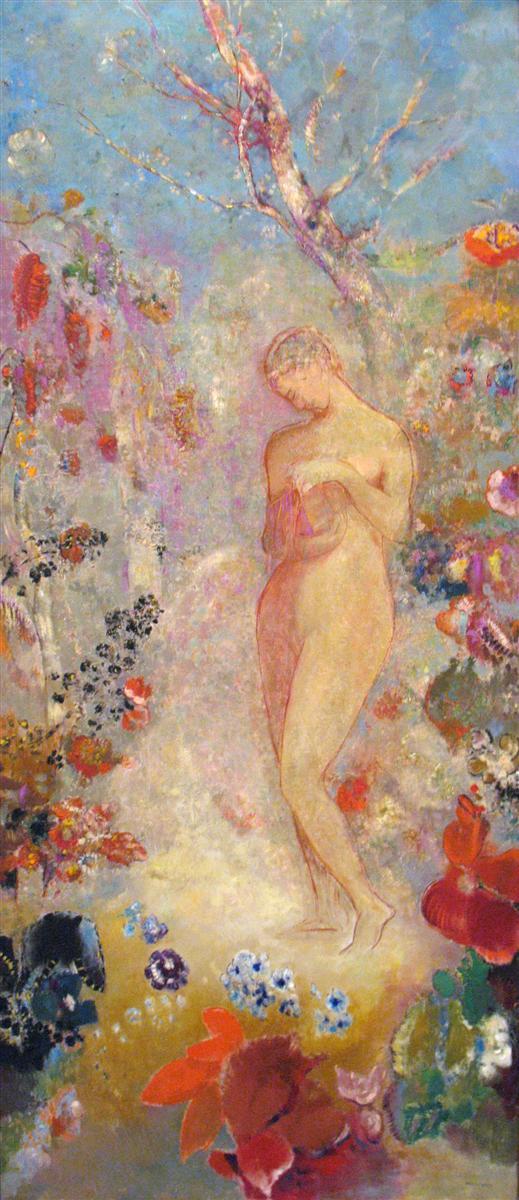 Pandora, Odilon Redon, 1914