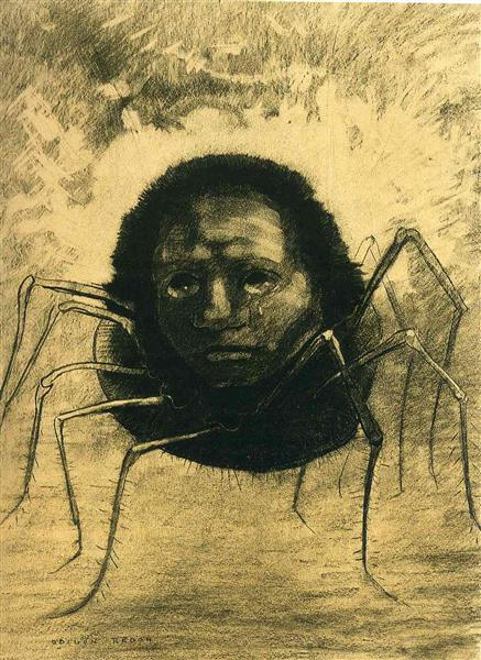 The Crying Spider - Redon Odilon
