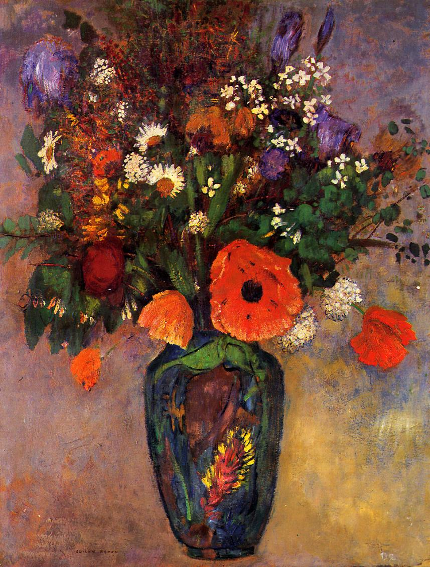 vase de fleurs odilon redon encyclopedia of visual arts. Black Bedroom Furniture Sets. Home Design Ideas