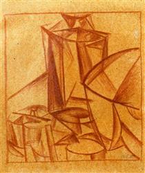 Composition - Oleksandr Bogomazov