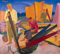 Tuning saws - Oleksandr Bogomazov