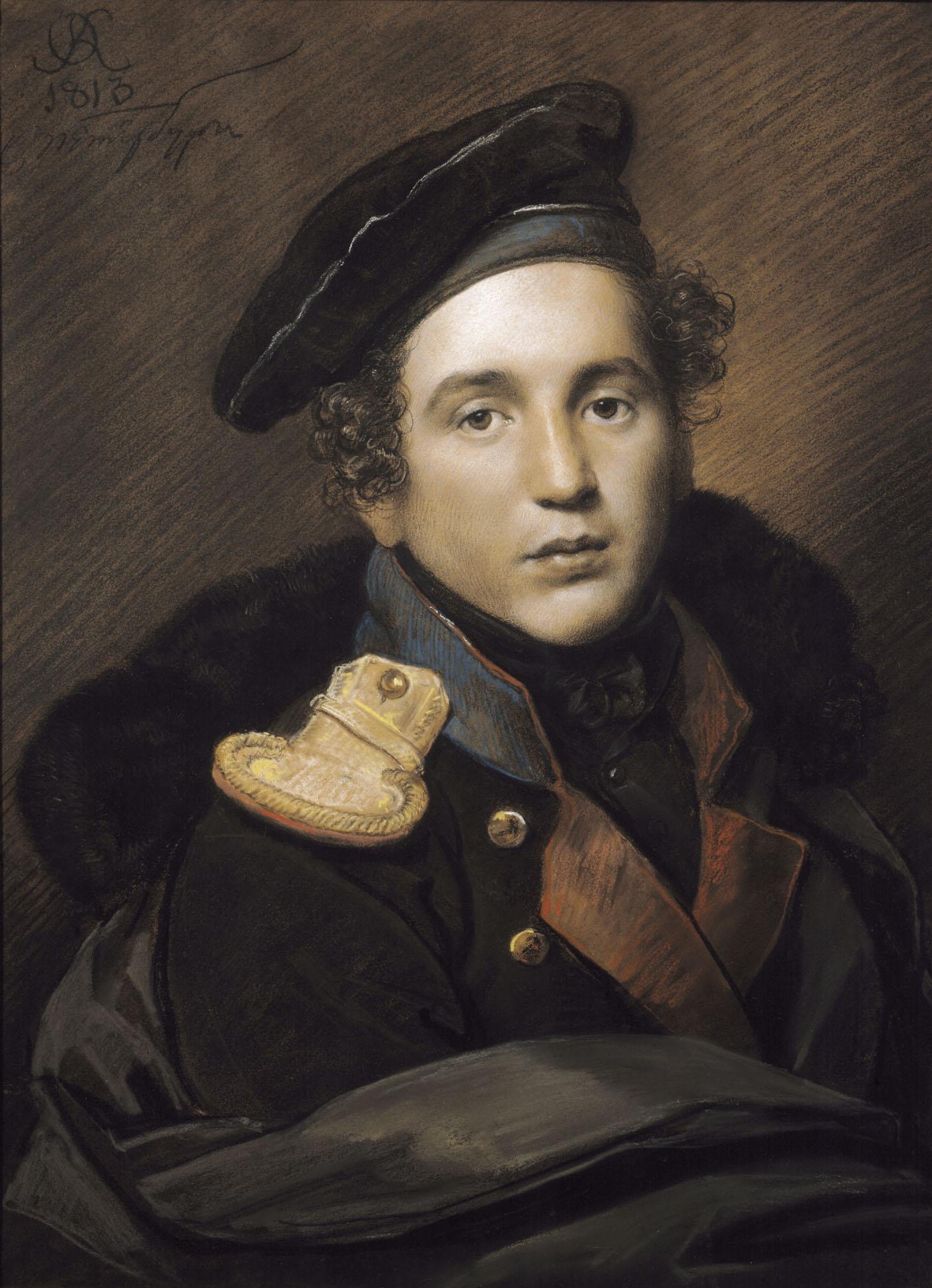... Оленина - Орест Кипренский - WikiArt.org: www.wikiart.org/ru/orest-kiprensky/portrait-of-pyotr-olenin-1813