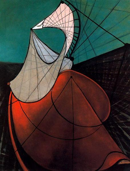 Mujer, 1941 - Óscar Domínguez