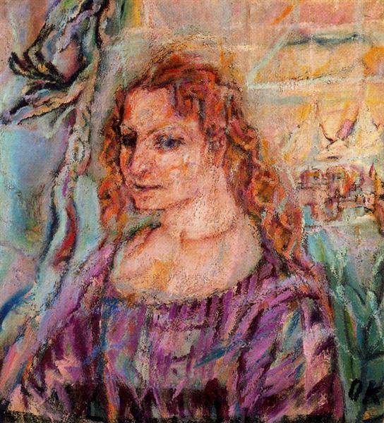 Alma Mahler, 1912 - Oskar Kokoschka
