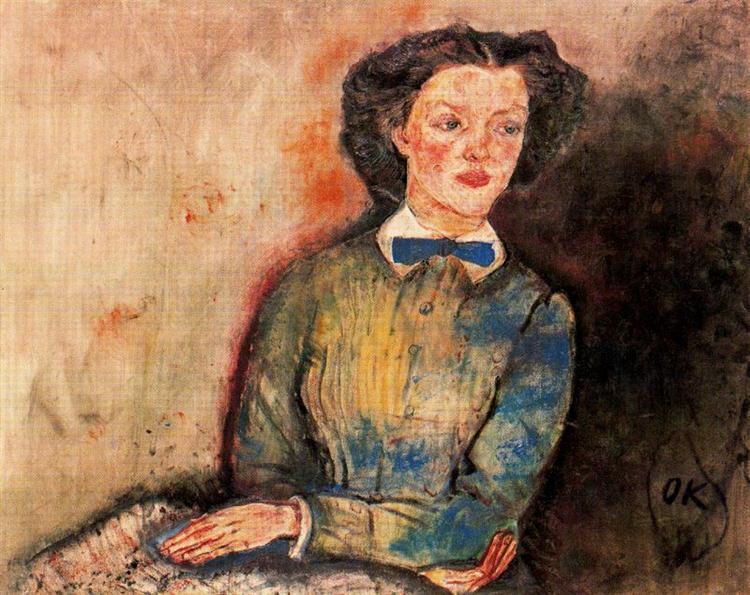 Bessie Bruce, 1910 - Oskar Kokoschka