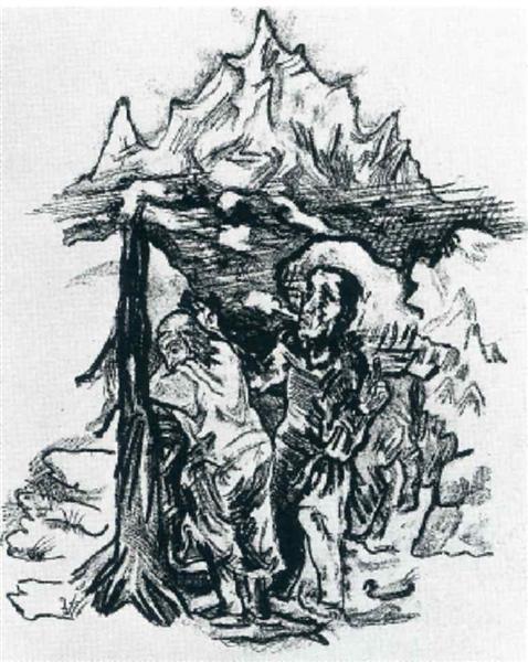 Fear and Hope, 1914 - Oskar Kokoschka