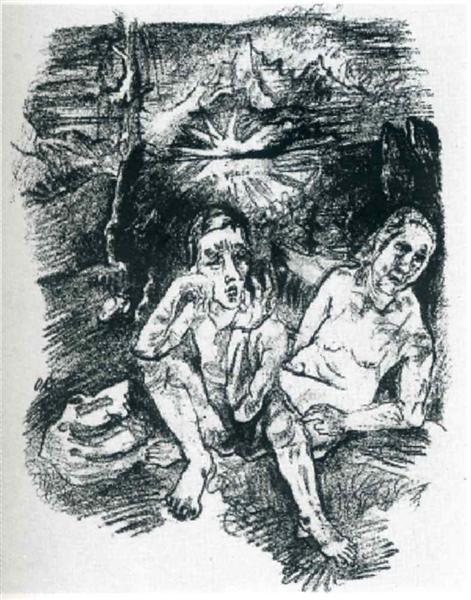The Last Night, 1914 - Oskar Kokoschka