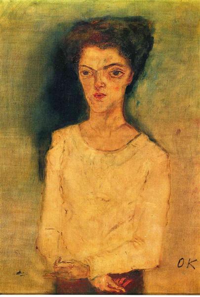 Martha Hirsch, 1909 - Oskar Kokoschka