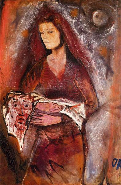 Veronica's Veil, 1909 - Oskar Kokoschka