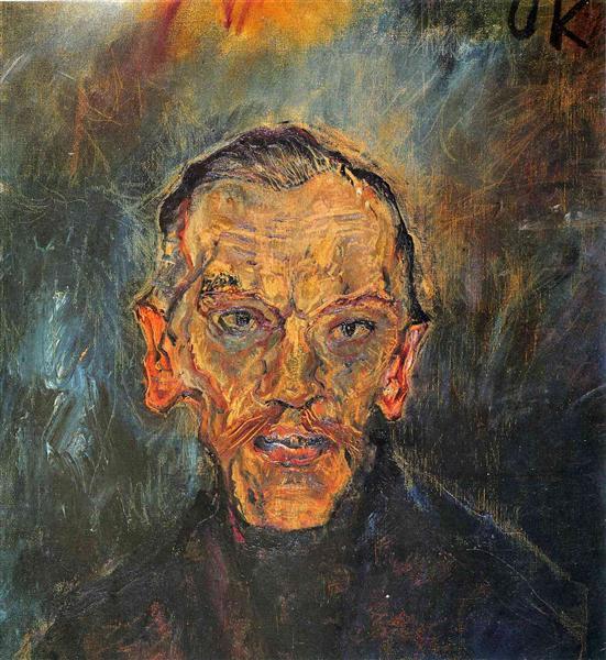 Ludwing Ritter von Janikowsky, 1909 - Oskar Kokoschka