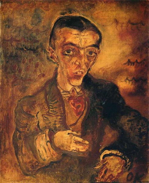 Conte Verona, 1910 - Oskar Kokoschka