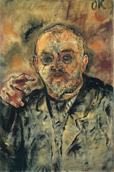 Paul Scheebart, 1910 - Oskar Kokoschka