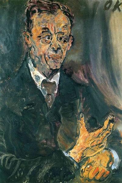 Emil Lowenbach, 1914 - Oskar Kokoschka