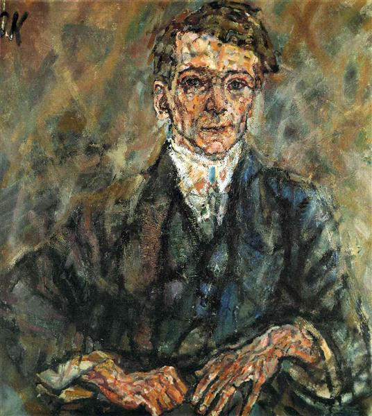 Egon Wellesz, 1911 - Oskar Kokoschka