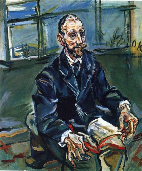 Franz Hauer, 1913 - Oskar Kokoschka