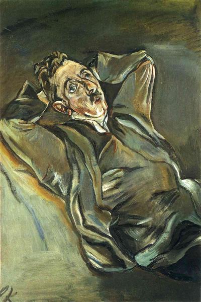 Albert Ehrenstein, 1914 - Oskar Kokoschka