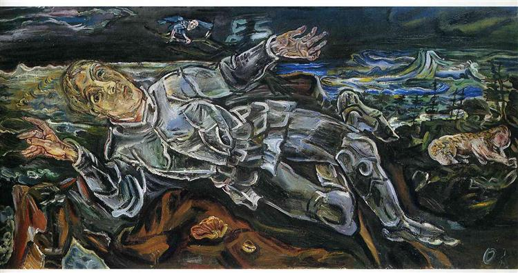 Knight Errant (Self-Portrait) - Oskar Kokoschka