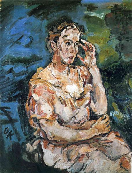 Princess Mechtilde Lichnowsky, 1916 - Oskar Kokoschka