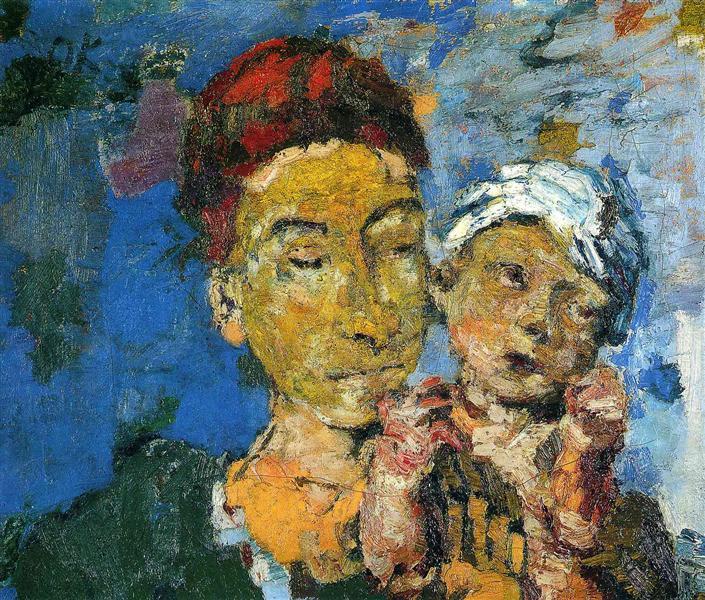 Mother and Child, 1921 - Oskar Kokoschka
