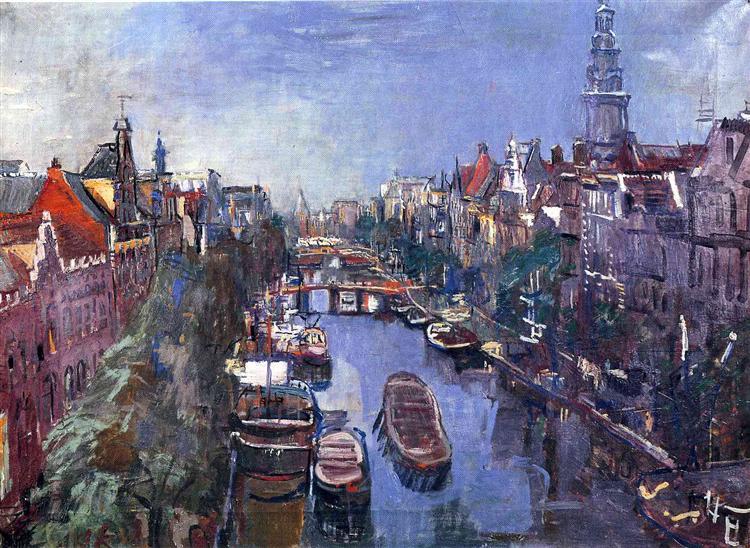 Amsterdam, 1925 - Оскар Кокошка