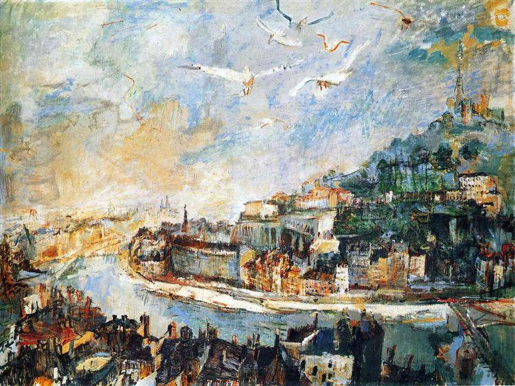 Lyon, 1927 - Oskar Kokoschka