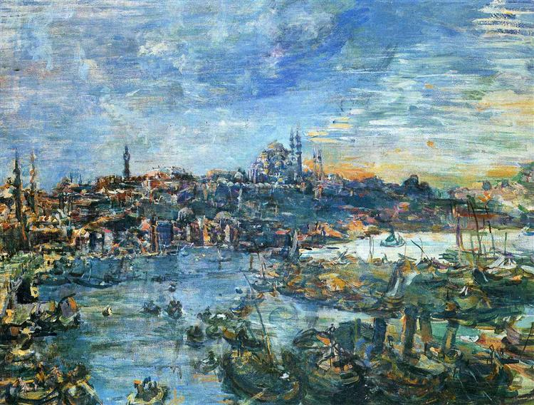 View of Constantinople, 1929 - Oskar Kokoschka