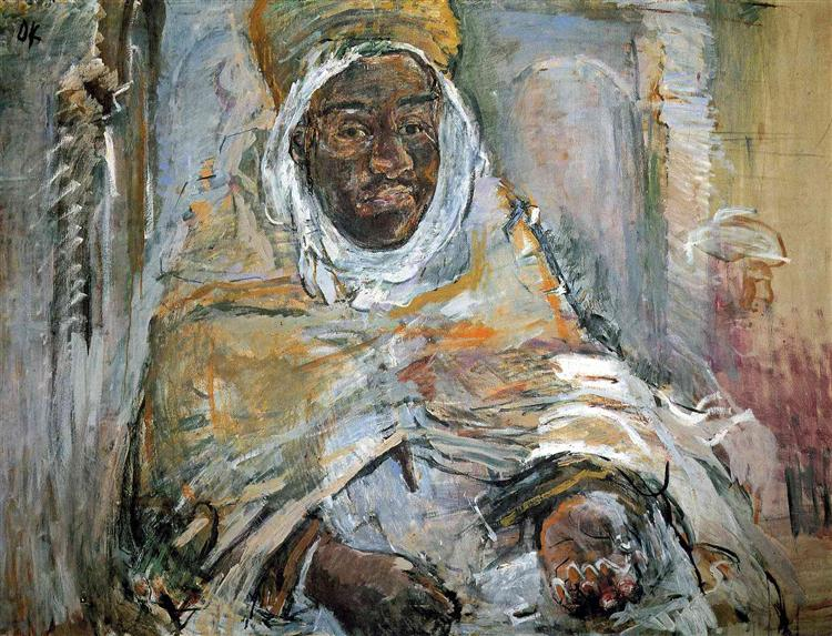 The Morabito of Temacina, 1928 - Oskar Kokoschka